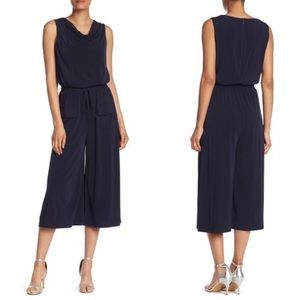 Vince Camuto | NEW Black Cropped Jumpsuit